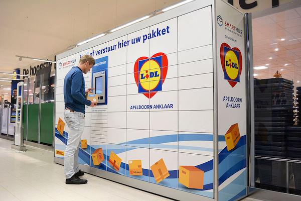 Smartmile smart locker in the Netherlands. Source: Smartmile
