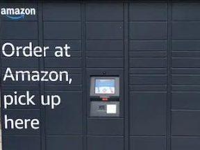 Photo of an Amazon Locker