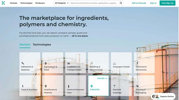 Home page of Knowde