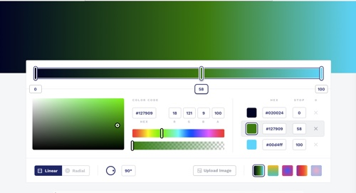 Home page of CSS Gradient