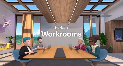 Home page of Facebook Horizon Workrooms