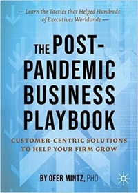 """Cover of """"The Post-Pandemic Business Playbook"""""""