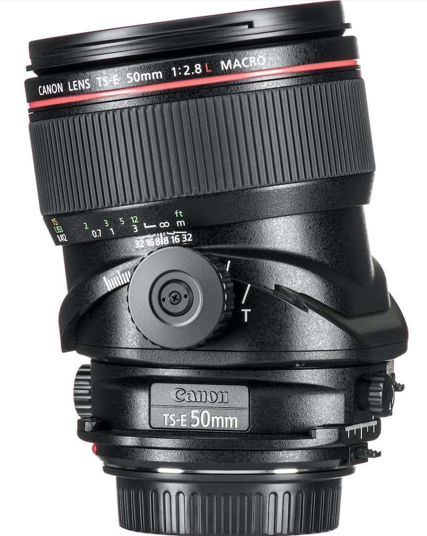 Sample Canon tilt-lens from B&H Photo