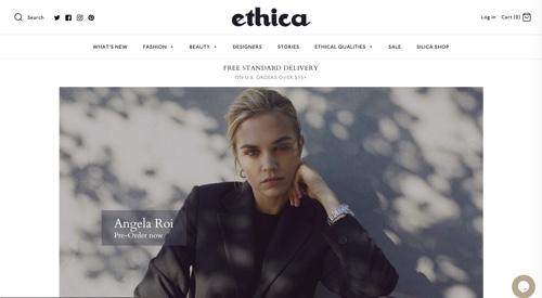 Home page of Etihica