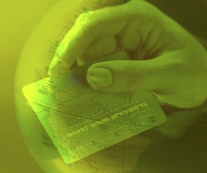 Stylized Photo of a Credit Card