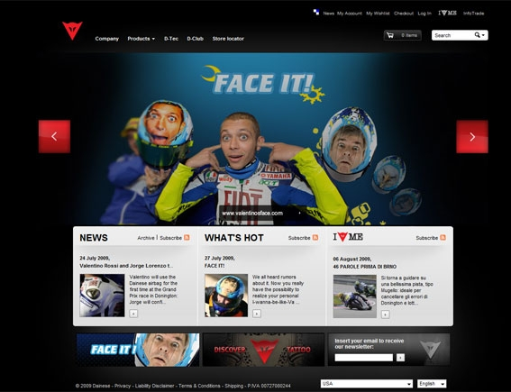 Dainese Home Page