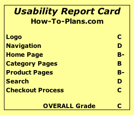 Usability Report Card