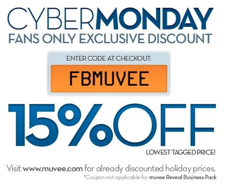Muvee's Cyber Monday promotion on Facebook.