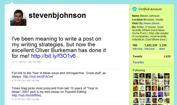 Steven Johnson tweet.