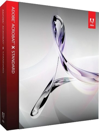 Adobe Acrobat software.
