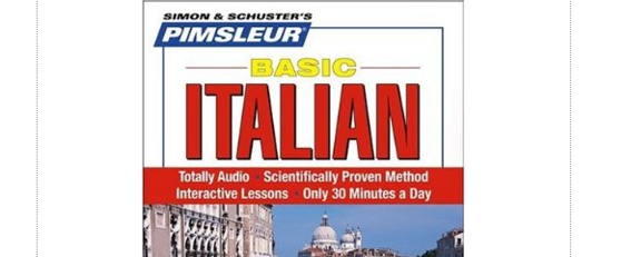 Italian, Basic: Learn to Speak and Understand Italian with Pimsleur Language Programs by Simon & Schuster's Pimsleur.
