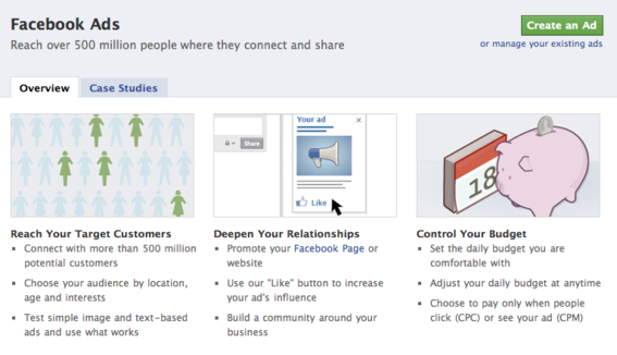 Facebook advertising helps merchants promote their businesses.
