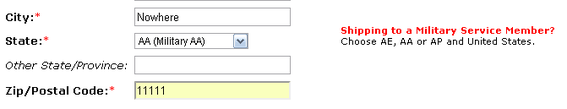 Providing instructions next to appropriate fields helps lessen confusion and further guides the customer to a successful transaction.