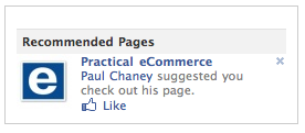 You can now recommend your Page to contacts on Facebook.