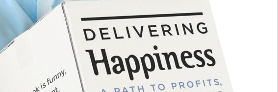 Delivering Happiness: A Path to Profits, Passion and Purpose by Tony Hsieh.
