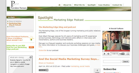 Marketing Edge Podcast.