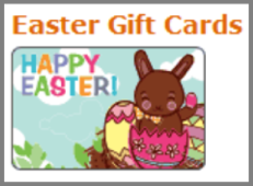 Easter gift card.