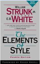 The Elements of Style, by Strunk and White.