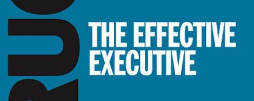 The Effective Executive by Peter F. Drucker.