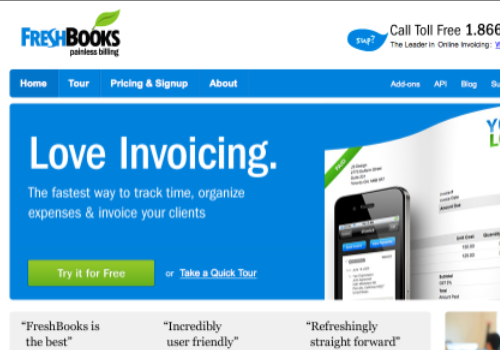 Training Invoice Template Pdf  Tools For Online Bookkeeping And Invoicing  Practical Ecommerce Invoice Line Pdf with Auto Repair Invoicing Software Pdf Freshbooks Tax Invoice Generator Excel