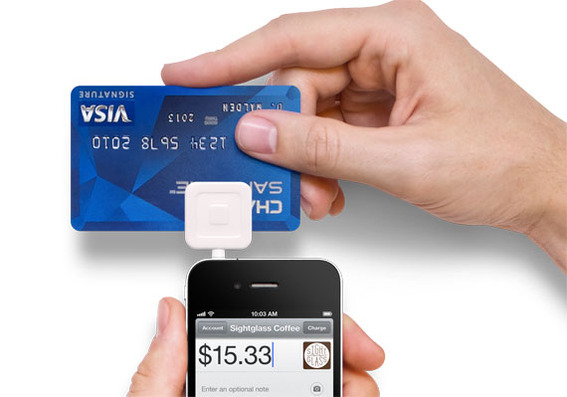 Square completes the transaction from the mobile handset and does not require connecting to an additional network.