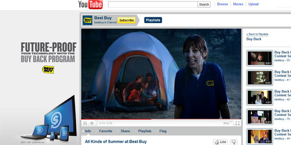 BestBuy has nearly 3,000 subscribers on its YouTube channel.