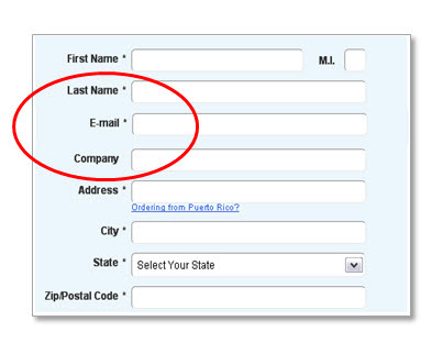 Make sure the email field fits logically within the flow of your forms.