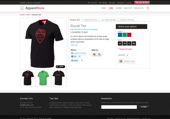 25 Great Magento Themes | Practical Ecommerce