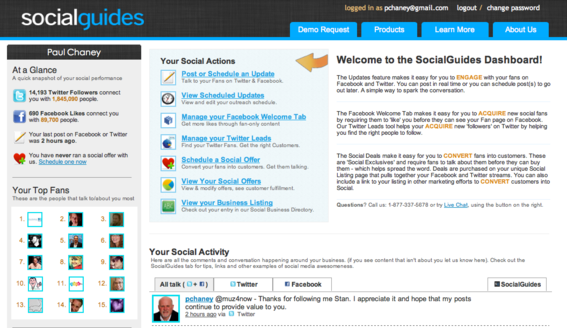 Social Guides focuses on social commerce.