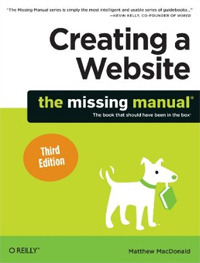 Creating a Website: The Missing Manual.