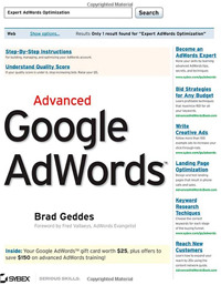 Advanced Google AdWords.