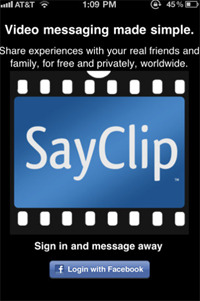 SayClip screenshot.