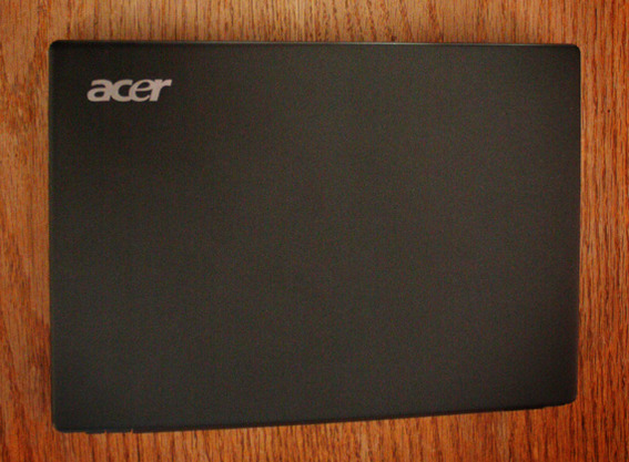The Acer AC700 Chromebook features basic styling.