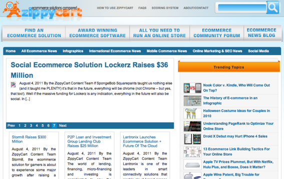 Zippycart provides news about ecommerce industry trends.