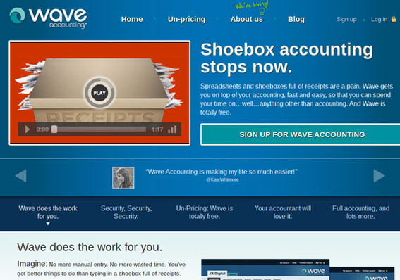 Wave Accounting is a business accounting suite that will run from a Chromebook.
