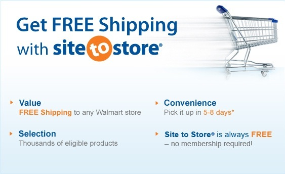"Walmart calls its in-store pickup ""Site to Store."""