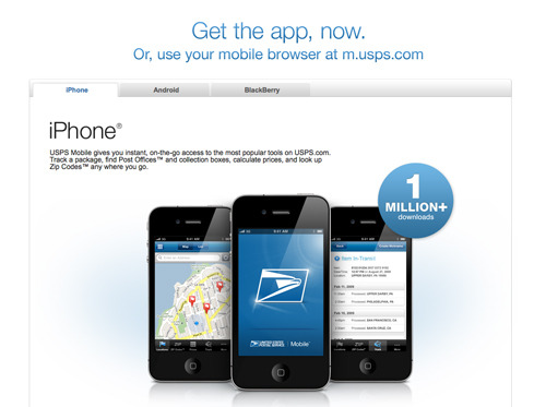 USPS Mobile Solutions.