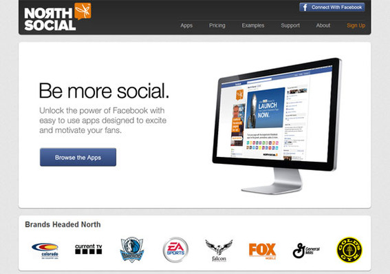 North Social offers several Facebook apps.