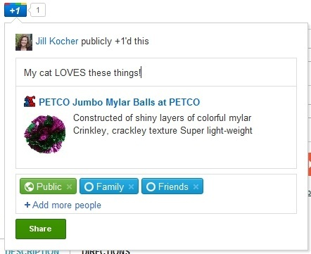 Example PETCO product +Snippet.