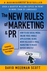 The New Rules of Marketing and PR.