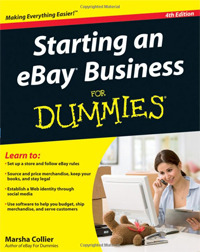 Starting an eBay Business For Dummies.