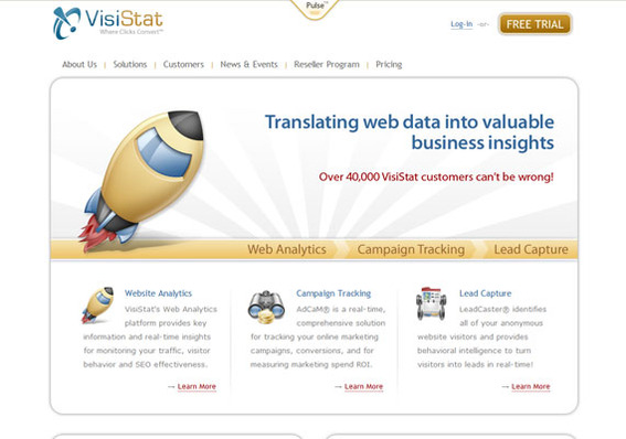 VisiStat seeks to make web analytics easy for small- and medium-sized businesses.