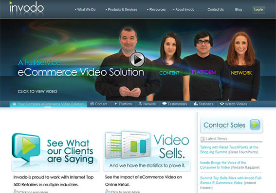 Invodo is a full service video solution.