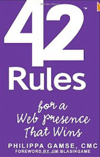 42 Rules for a Web Presence That Wins.