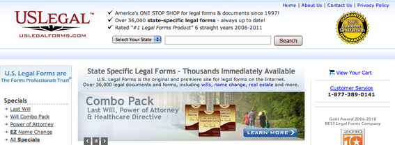 10 Online Legal Form Providers Practical Ecommerce