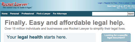 10 Online Legal Form Providers | Practical Ecommerce