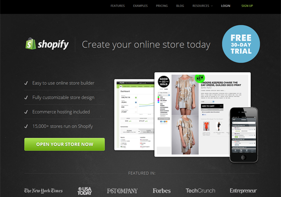 Shopify has many available extensions that connect it to third-party software.