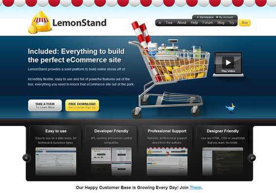LemonStand is a feature-rich choice for mid-sized ecommerce businesses.