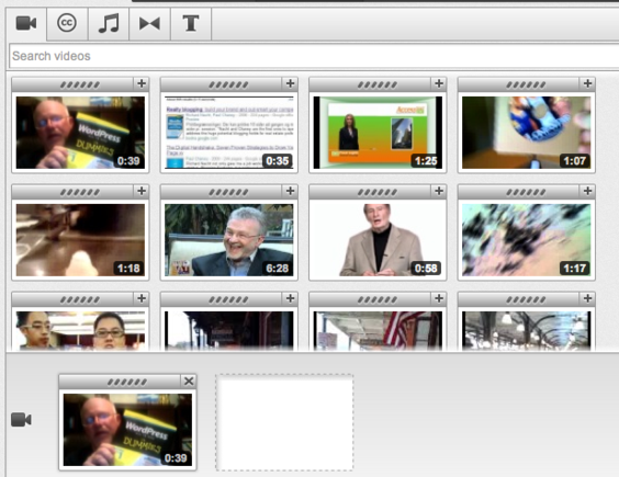 Video editing is made easier through the use of the new Video Editor dashboard.