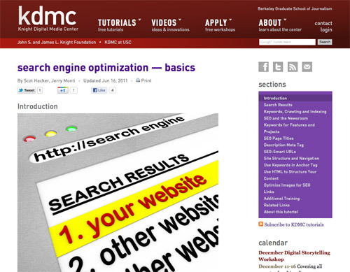 """Search Engine Optimization — Basics."""